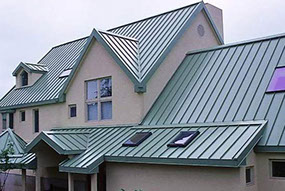 ar metal roofing types